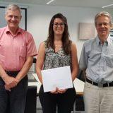 Diplomfeier Juni 2019 - Jürg Rüedi, Rahel Hausamann, Jürg Frick